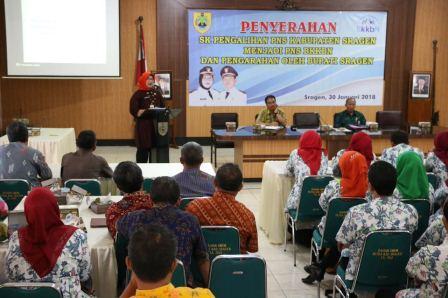 Pengalihan pegawai BKKBN (1)